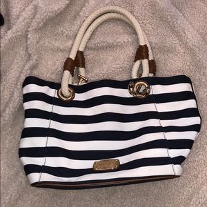 Michael Kors anchor themed tote